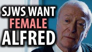 Now SJWs Want a Female Alfred in Batman