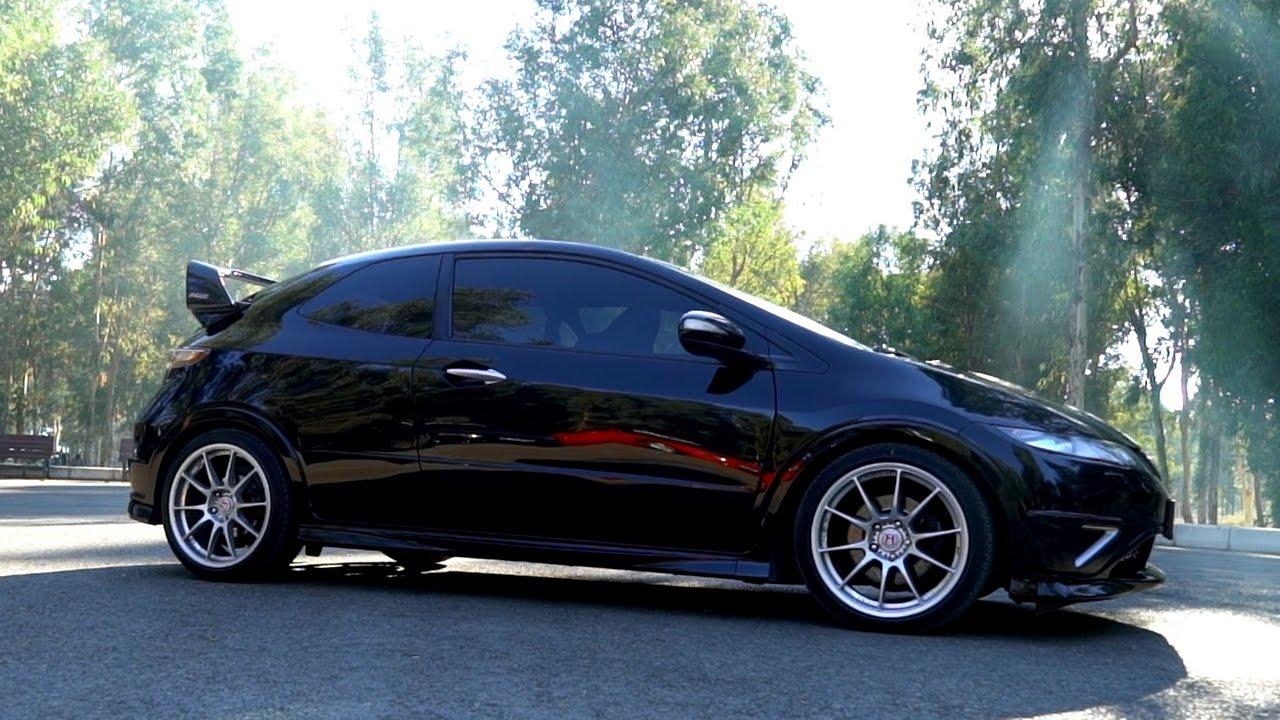 Honda Civic Type-R FN2 Test Sürüşü / Son Atmosferik K20 - YouTube