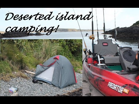 24 hour solo kayak game fishing/camping trip....