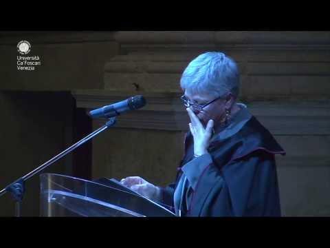 Cerimonia di conferimento Honorary Fellowship a Ottavia Piccolo