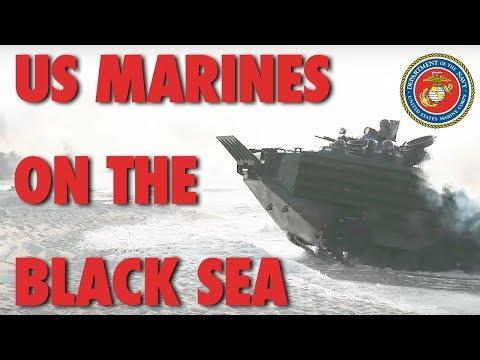 US Marines on the Black Sea