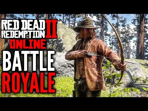 RED DEAD REDEMPTION 2 Online BATTLE ROYALE Bow And Arrow Gameplay (Make It Count)