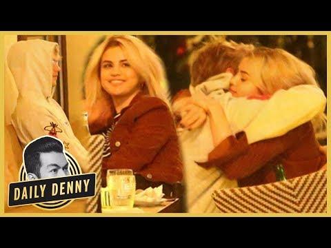 O-M-Jelena! Selena Gomez & Justin Bieber Cuddle During Date Night   Daily Denny