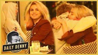 O-M-Jelena! Selena Gomez & Justin Bieber Cuddle During Date Night | Daily Denny