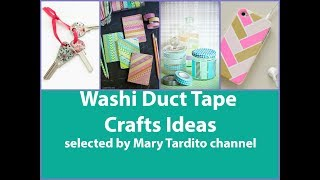 Washi Tape Crafts Ideas – DIY Duct Tape Crafts to Make