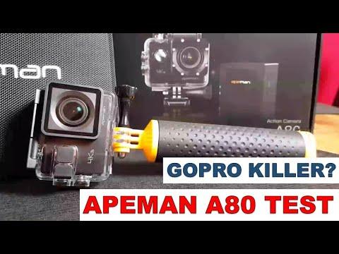 apeman a80 4k action cam modell 2018 test deutsch. Black Bedroom Furniture Sets. Home Design Ideas