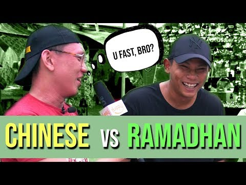 Chinese Guy Attempts to Fast During Ramadan! | STREET TALK 2.0