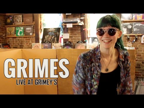 Grimes - Live at Grimey's (3 October 2012)