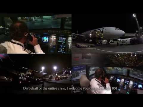 Despedida Airbus A340 LAN