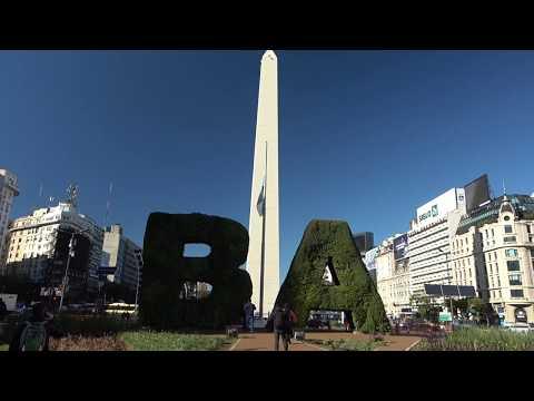 Город где всегда Хороший Воздух! Мы в Буэнос Айрес.