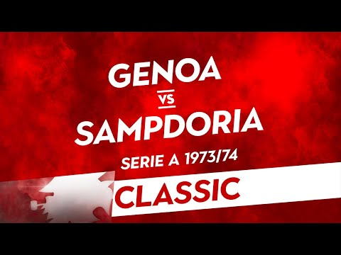Classic: Genoa-Sampdoria 1973/74