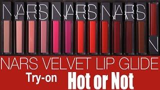 nars velvet lip glide review   hot or not