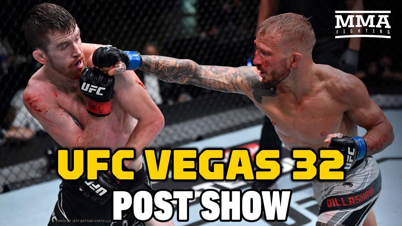UFC Vegas 32: Sandhagen vs. Dillashaw Post Show | MMA Fighting