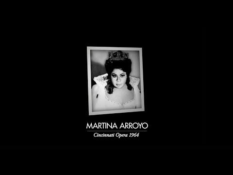 Cincinnati Opera History - Martina Arroyo