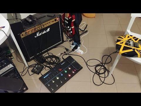 line 6 firehawk Heavy Metal & Hard Rock Tone Test