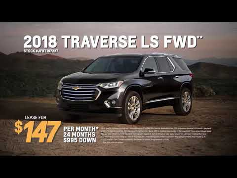May Lease Deals: Chevrolet Silverado & Chevrolet Traverse