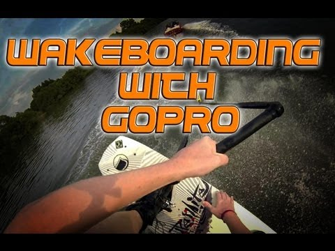 Wakeboarding with GoPro! How to Mount!
