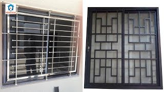 Best windows grills design ideas | window iron grill simple design images