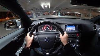 2018 Volvo V60 T6 Awd R-Design - Pov Night Drive (Binaural Audio)
