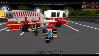 Sioux City Responds to a Structure Fire *Roblox*