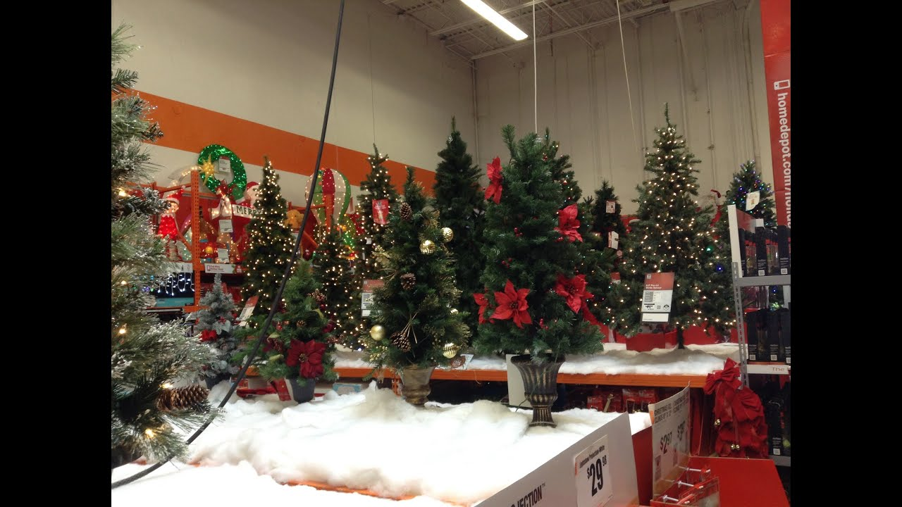 The Home Depot Christmas 2014
