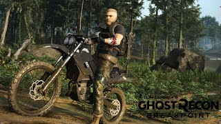Hogaty i MOTOCYKL w Ghost Recon Breakpoint - Closed Beta