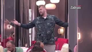 Zadruga 4 - Janjuš prekinuo sastanak pa napravio haos za crnim stolom  - 17.02.2021.