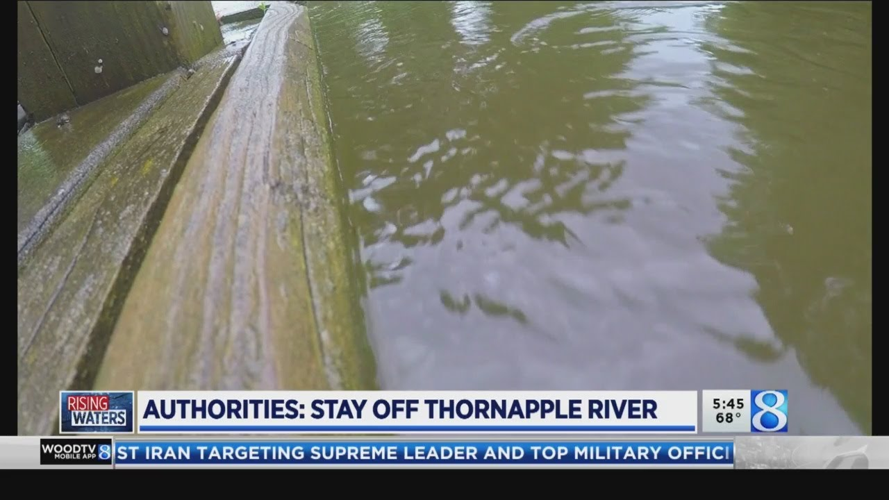 Authorities: Stay off Thornapple River
