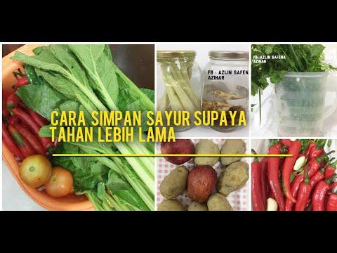 Cara Simpan Sayur Supaya Tahan Lebih Lama Youtube