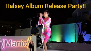 Halsey Manic Experience / FULL SHOW!! / Album Release Party / HD SD