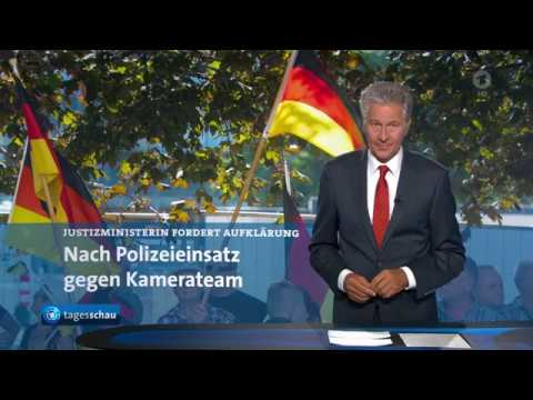 ZDF - Kamerateam wurde in Dresden behindert