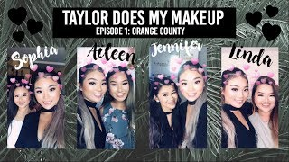 Taylor Does My Makeup: Episode 1 | Taylor Vo