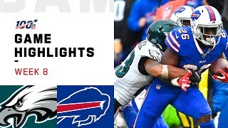 Eagles vs. Bills Week 8 Highlights | NFL 2019