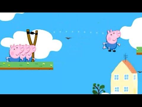 Peppa Pig y George - Tiro al Blanco - Juegos para Niños - Videos Infantiles