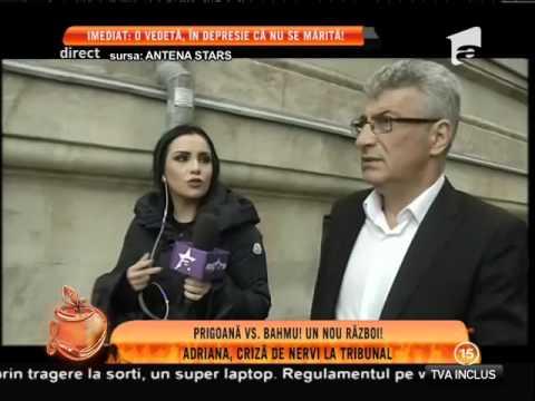 Adriana Bahmuţeanu a făcut o criză de nervi, în faţa fostului soţ!