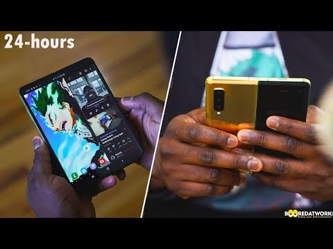 Galaxy Fold After 24-hrs: Phone, Tablet or both???