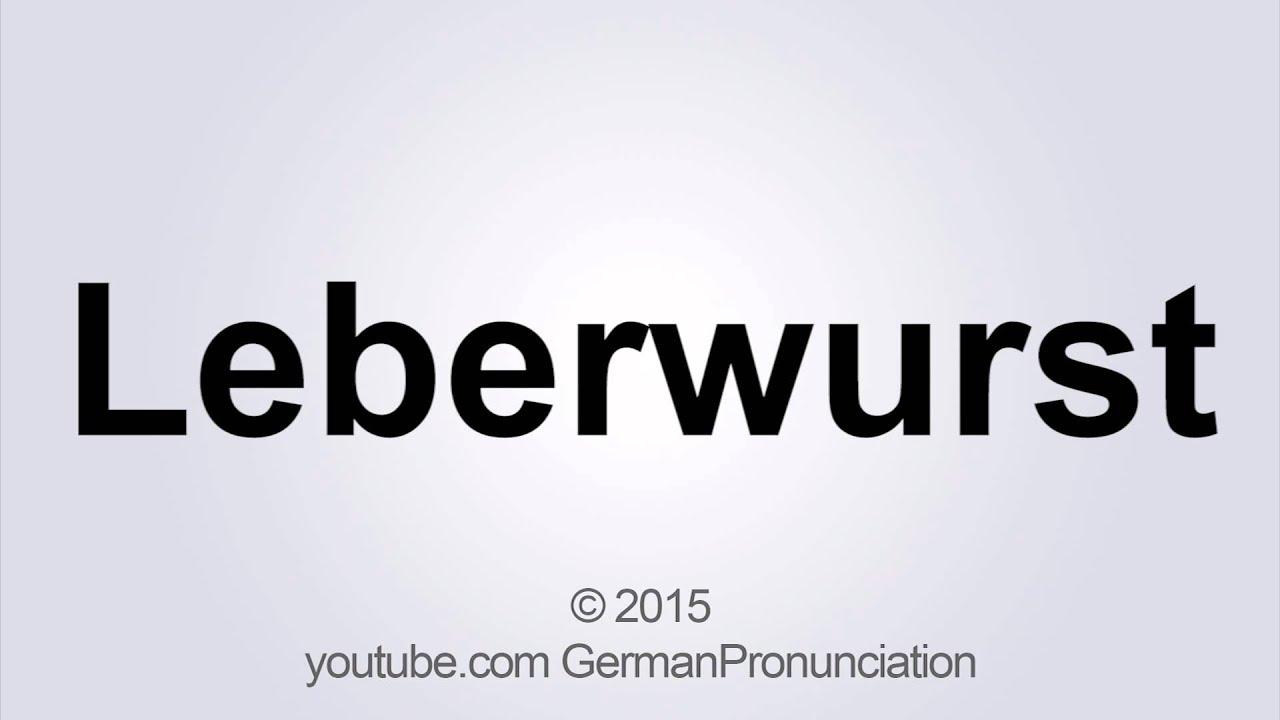 Die Kuche Pronunciation