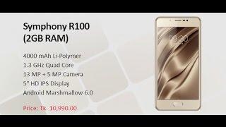 symphony r100 2gb ram review