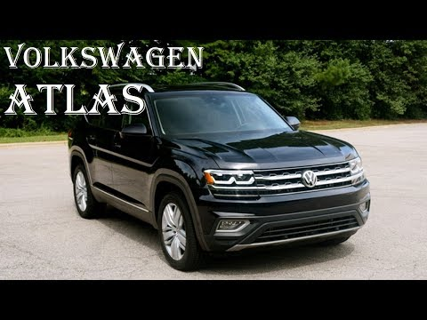 2018 Volkswagen Atlas Review - Price, Interior, Towing Capacity - Specs Reviews | Auto Highlights