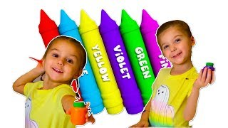 Colors for Children ~ Learning Paint Colors ~ Educational Video for kids
