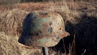 Лен. Фронт.Немецкий Блиндаж,запашка.Коп по Войне 2020.WWII Metal Detecting