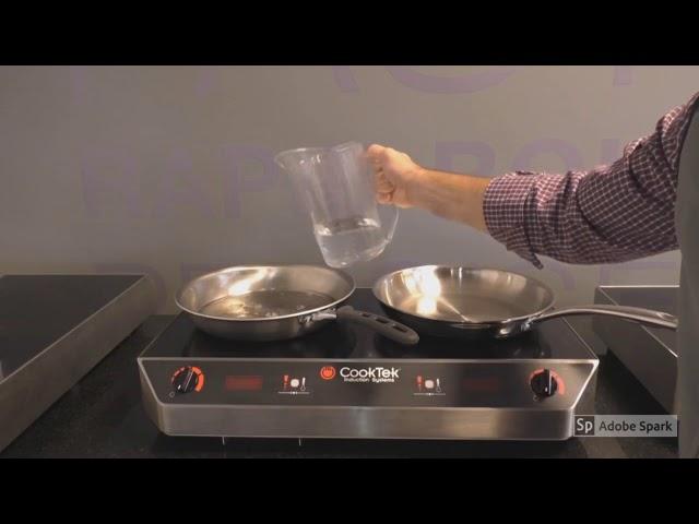 CookTek Tri-ply Cookware
