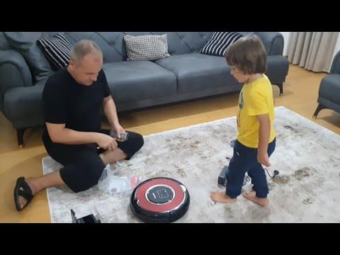 Fatih Selimlerin Evini Kendi Kendine Süpüren Robot Süpürge Arçelik Robot