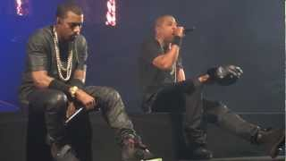 Jay Z & Kanye - New Day - Watch The Throne Tour - UK (HD)