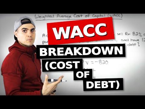 FIN 401 - WACC (Cost Of Debt) - Ryerson University