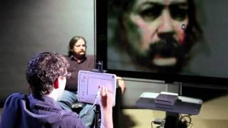 David Kassan zeichnet auf dem uDraw™ GameTablet™