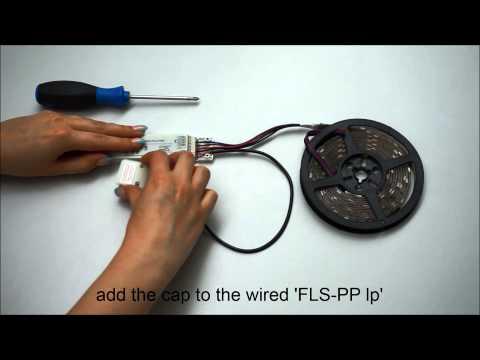 ZigBee Wiring FLS PP lp bundle, wireless RGB LED stripe light control
