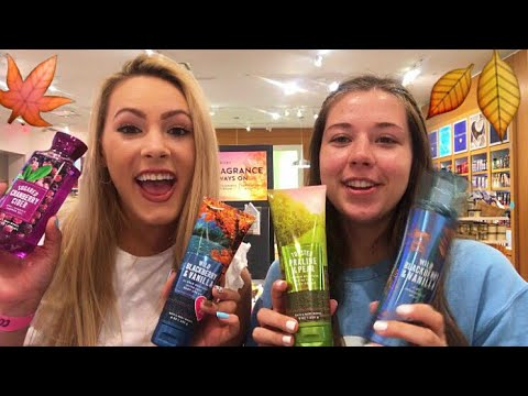 FALL BATH & BODY WORKS SHOP WITH ME!