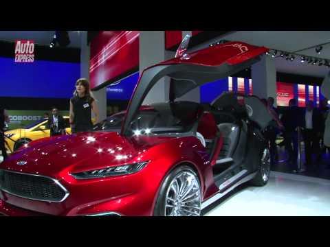 Frankfurt Motor Show 2011 Ford Evos Concept - Auto Express