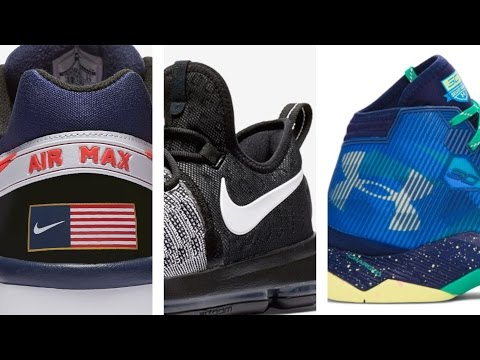 """KD 9 """"Mic Drop"""", Kyrie 2 """"Triple Black"""", Curry 2 5 """"SC30"""" and more on Heat Check"""